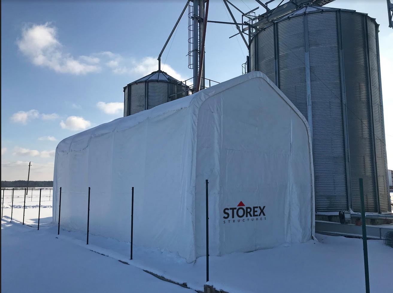 Storage tents NORDA