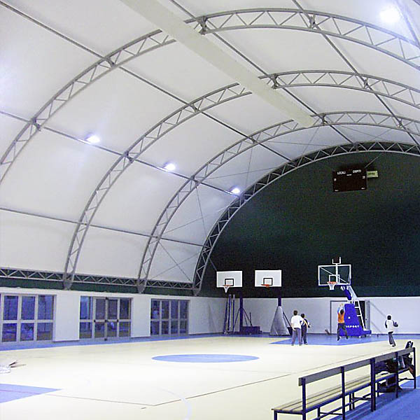 Warehouse tents for sports arenas