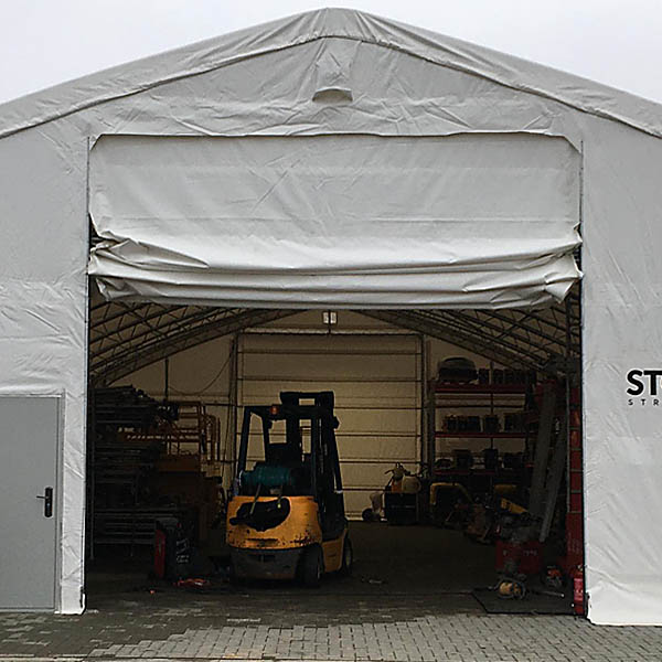 Tent gates
